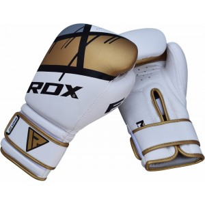 RDX F7 Ego Training Boxing Gloves (Golden)