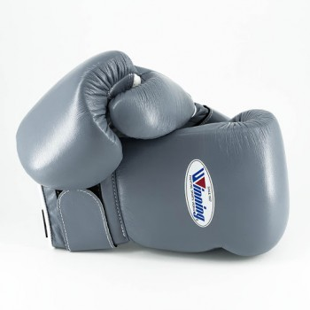 Winning Boxing Gloves Special Edition (Velcro/Grey...