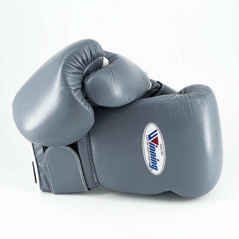 Winning Boxing Gloves Special Edition (Velcro/Grey)