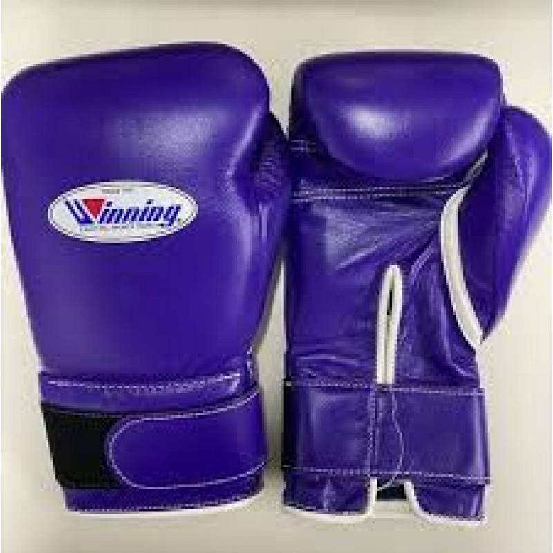Winning Boxing Gloves (Velcro/Purple)