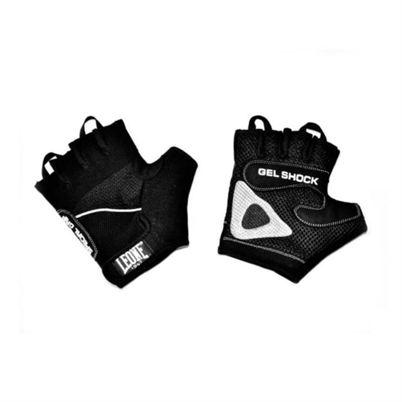 Leone Gym Gloves - AB712 (Black)