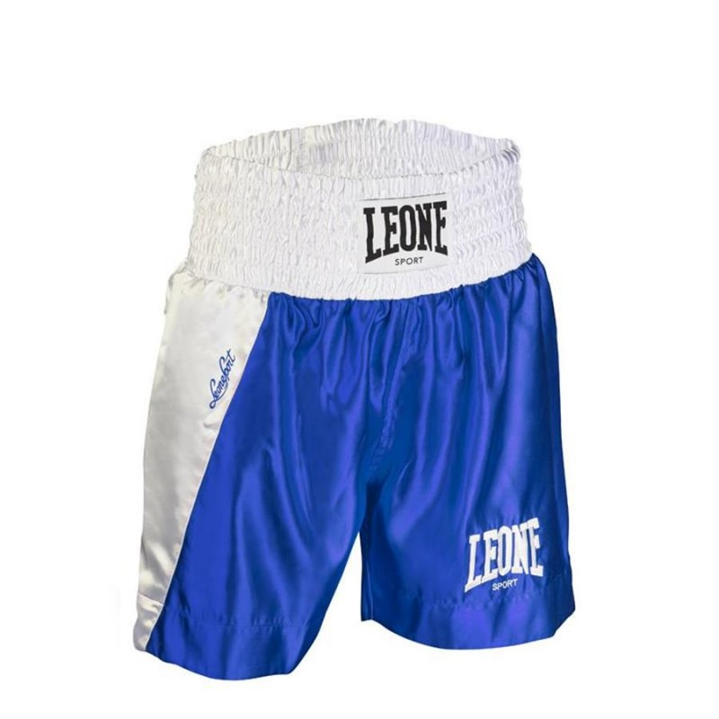 Leone LINEAR BOXING SHORTS (Blue)