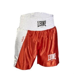 Leone LINEAR BOXING SHORTS (Red)