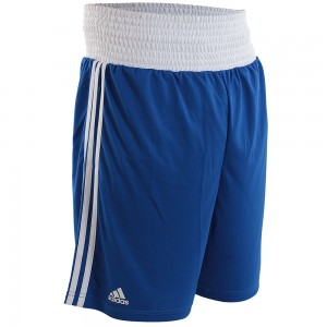 Adidas Boxing Shorts (AIBA Blue/White)