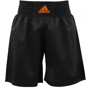 Adidas Multi Boxing Short (Black/Orange)