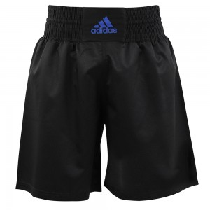 Adidas Multi Boxing Short (Black/ Blue)