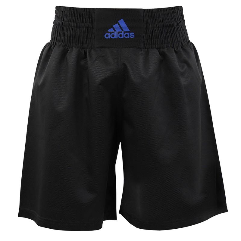 Adidas Multi Boxing Short (Black/ Blue)