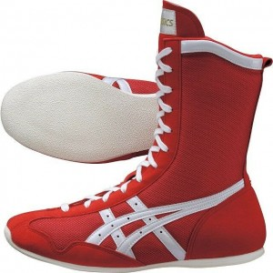 ASICS Boxing Boots (Red/Made in Japan)