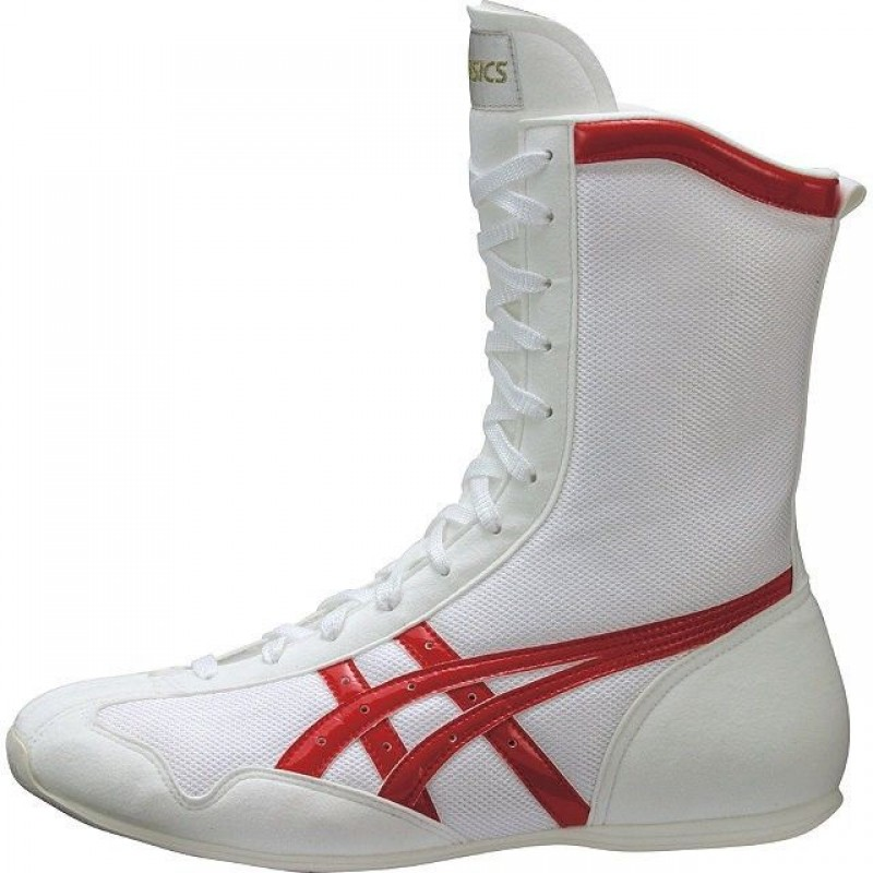 ASICS Boxing Boots (White/Made in Japan)