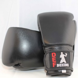 DEF Boxing Gloves (Black)