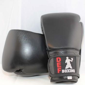 DEF Boxing Gloves (Black)