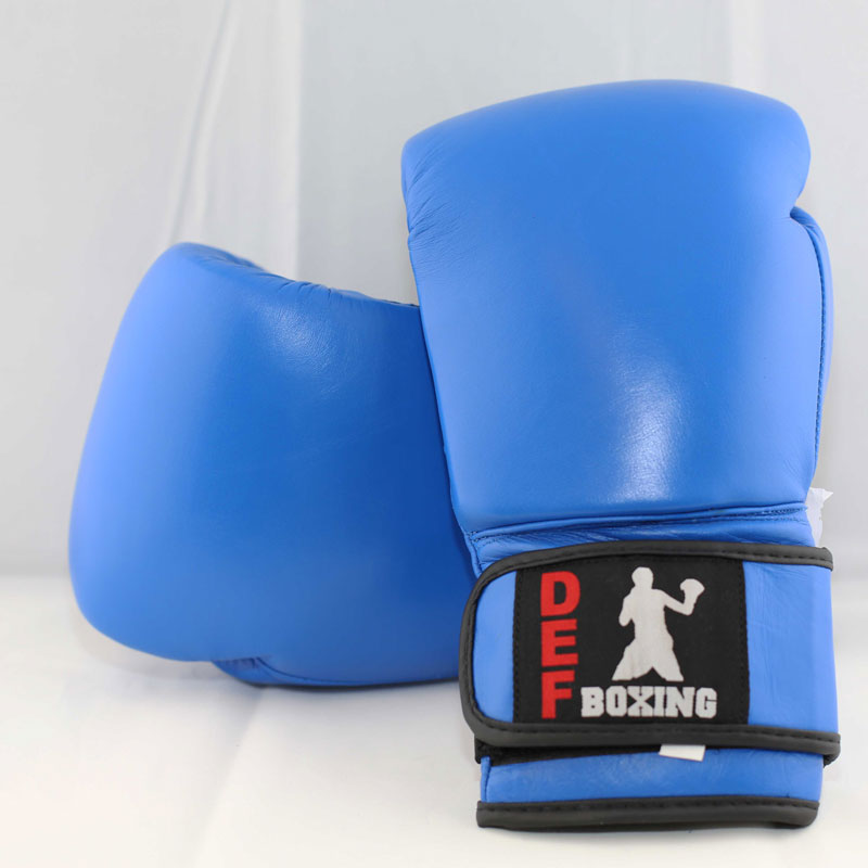 DEF Boxing Gloves (Blue)