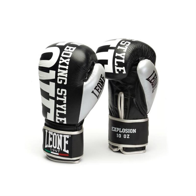 Leone Explosion Boxing Gloves - GN055 (Black)