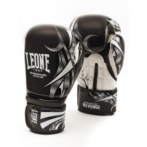 Leone Revenge Boxing Gloves - GN069 (Black)