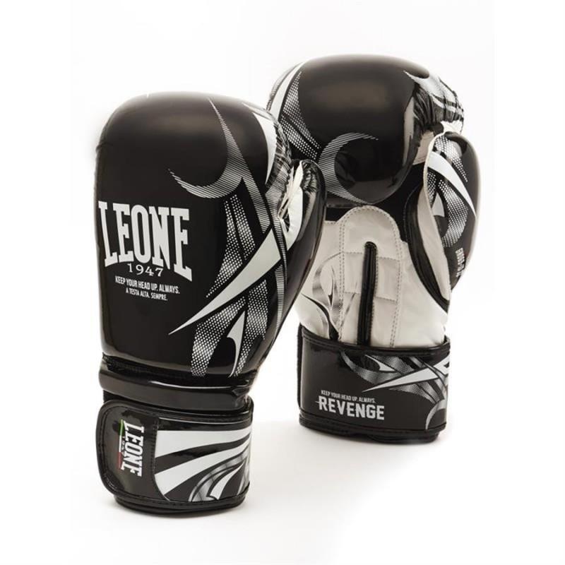 Leone Revenge Boxing Gloves - GN069 (Black)