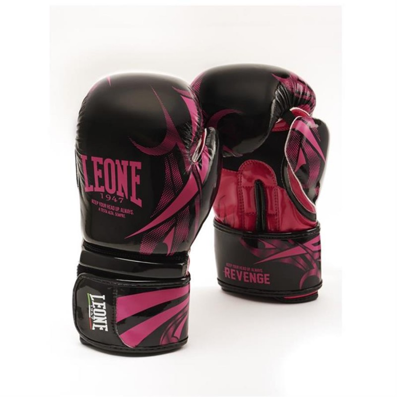 Leone Revenge Boxing Gloves - GN069 (Fuxia)