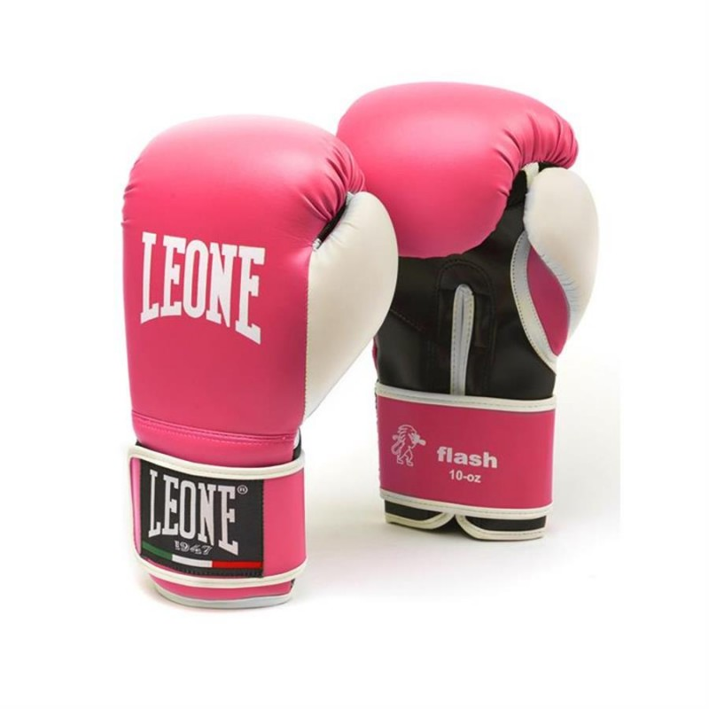 Leone Boxing Gloves - Flash GN083 (Fuxia)