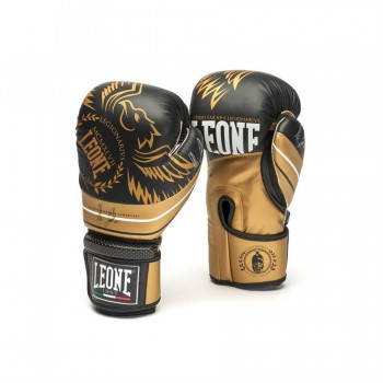 Leone Boxing Gloves - Legionarivs GN202 (Black/Gol...