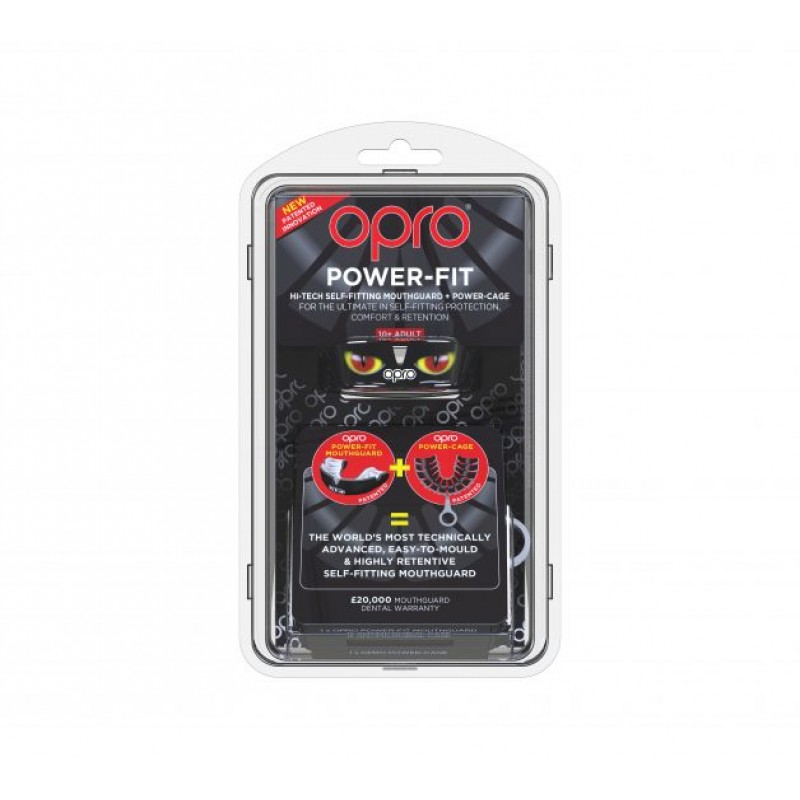 OPRO Power-Fit Mouthguard (Aggression)