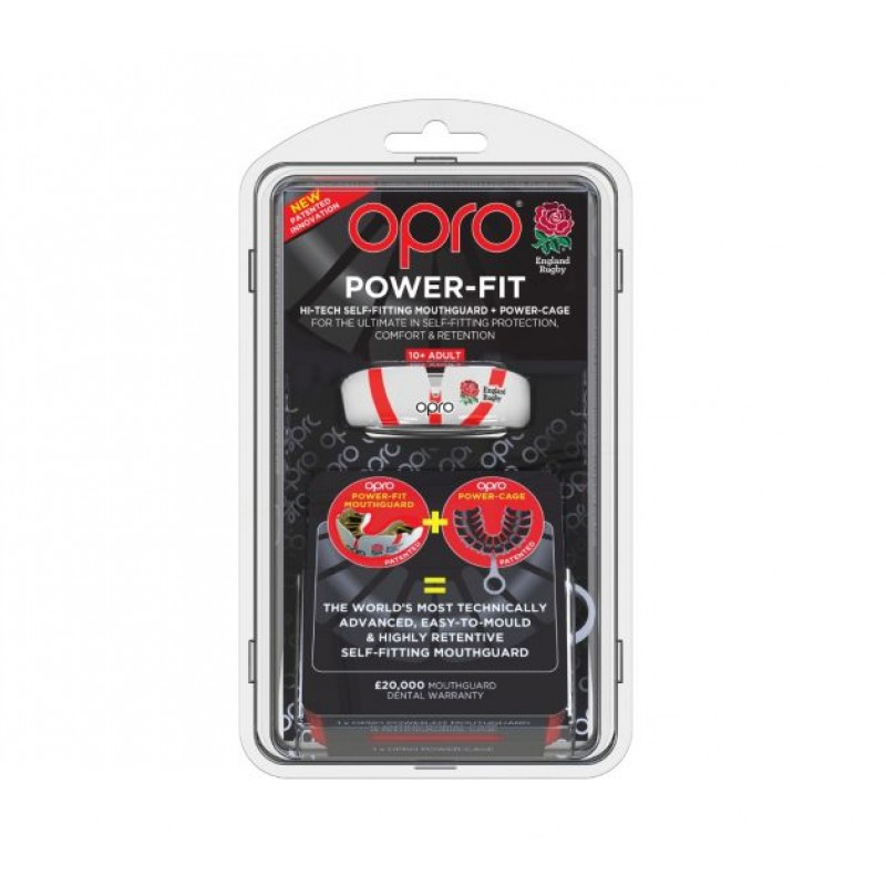OPRO Power-Fit Mouthguard (England)