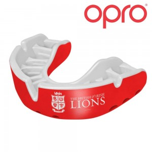 OPRO SILVER Mouthguard (British & Irish Lions)