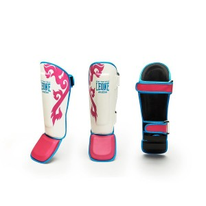 Leone Shinguards Muay Thai - PT118 (Fuxia)