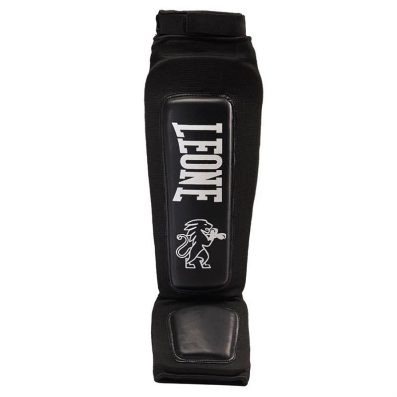 Leone Shinguards Paratibia Defender - PT120 (Black)