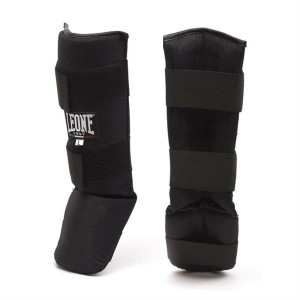 Leone Junior Basic Shinguards - PT132J (Black)