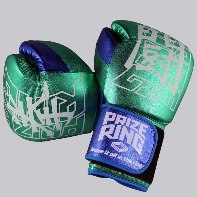 "Prize Ring ""Supreme 2.0"" KENTO (Metallic Green-Blue)"