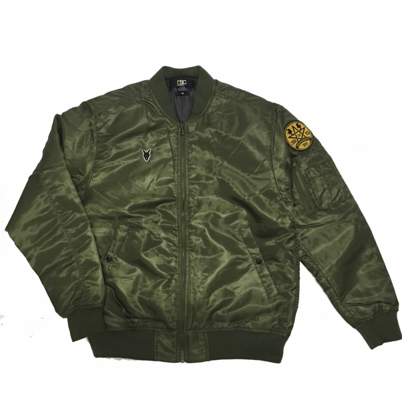 RSC Punch-Ma-1 Bomber Jacket (Green)