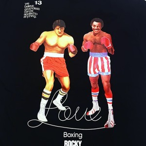 RSC Rocky Love Boxing Tee (Black)