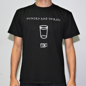 RSC Hungry and Thirsty Tee (Black)