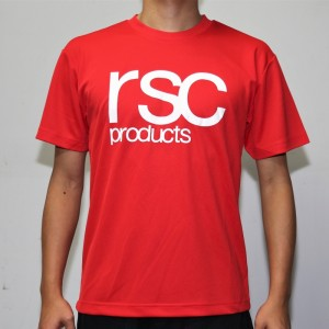 RSC Logo Dry Tee (Red)