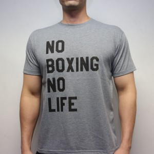 RSC No Boxing No Life Tee (Grey)