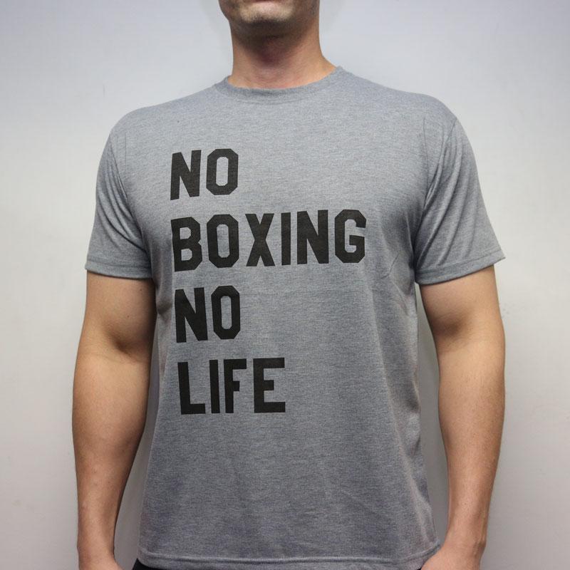 RSC No Boxing No Life Tee (Grey)