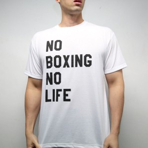 RSC No Boxing No Life Tee (White)
