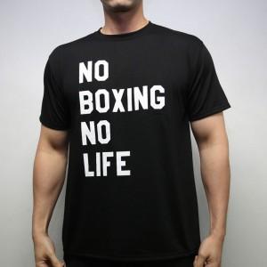 RSC No Boxing No Life Tee (Black)