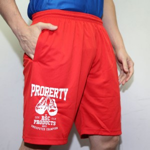 RSC Property Dry Half Pants (Red)