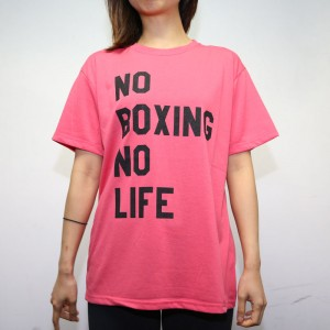 RSC No Boxing No Life Tee (Pink)