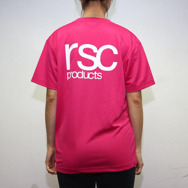 RSC Logo Dry Tee (Pink)