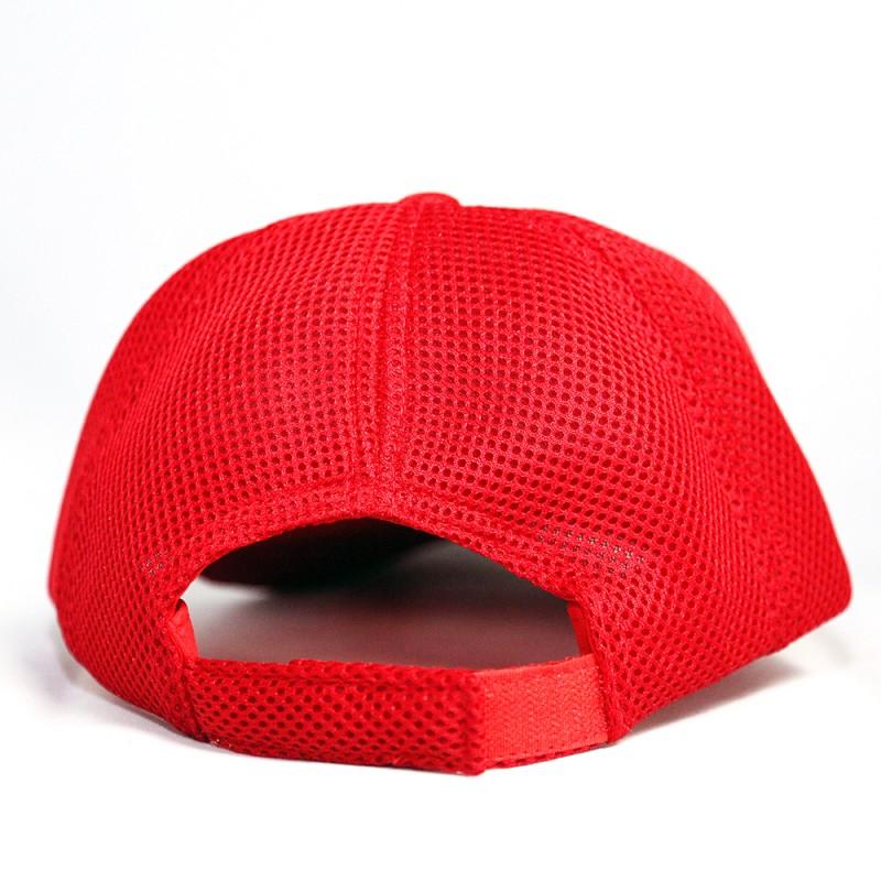 Winning Mesh Baseball Cap (Red/White)