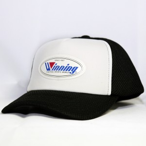 Winning Mesh Baseball Cap (Black/White)