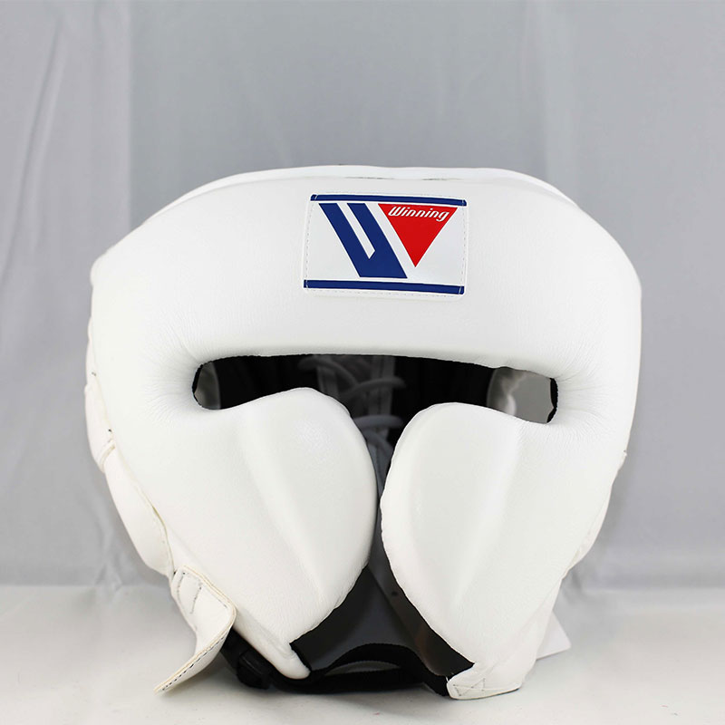 New from Japan Face Guard Design Winning Boxing Headgear FG-2900 White