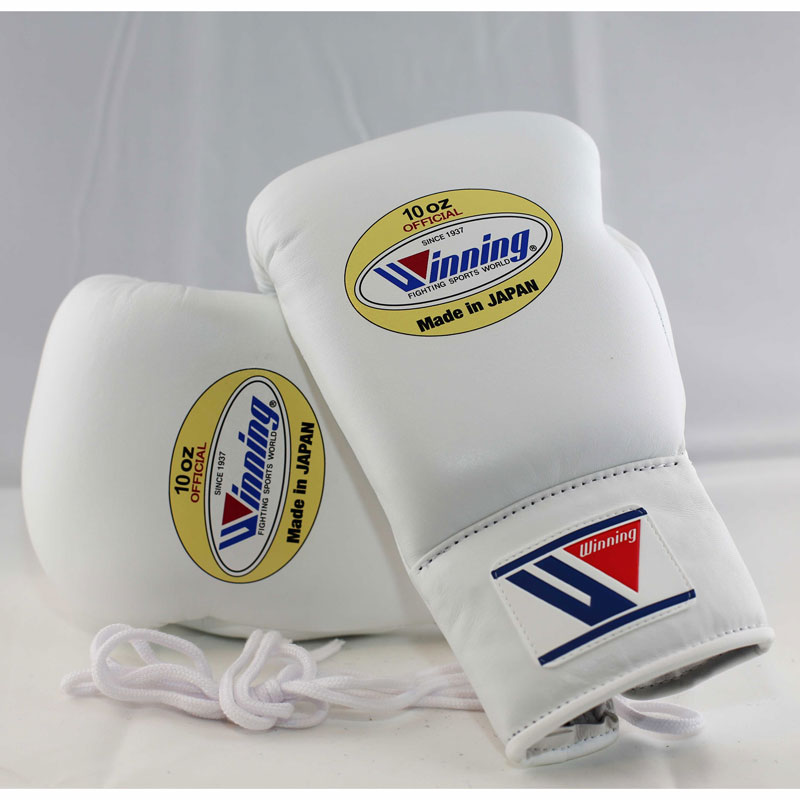 Winning Boxing Gloves (Lace/White)