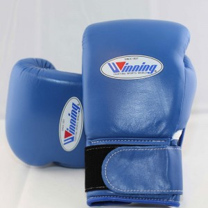 Winning Boxing Gloves (Velcro/Blue)