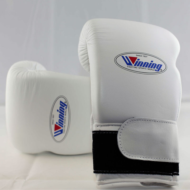 Winning Boxing Gloves (Velcro/White)