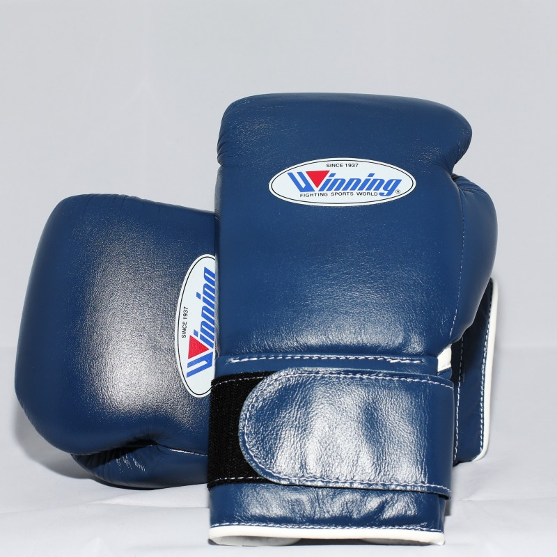 Winning Boxing Gloves Special Edition (Velcro/Navy)