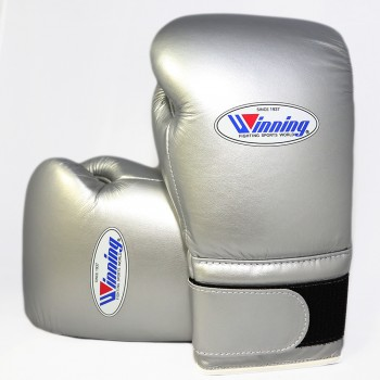 Winning Boxing Gloves Special Edition (Velcro/Silv...