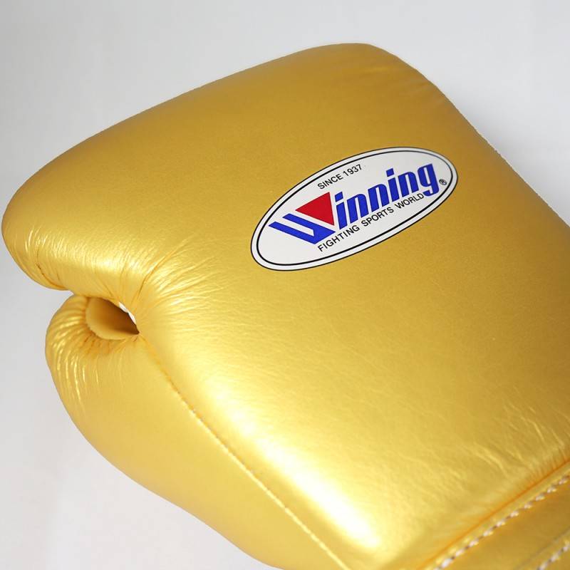 Winning Boxing Gloves Special Edition (Velcro/Gold)