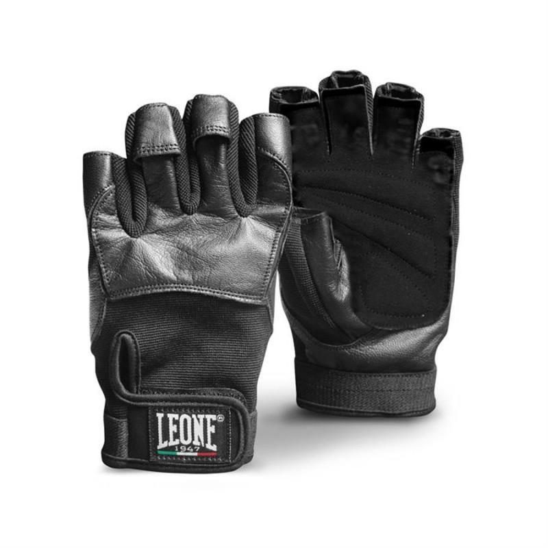 Leone Gym Gloves - AB713 (Black)